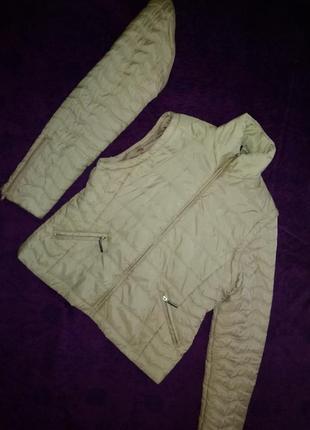 Куртка - жилетка  осенняя