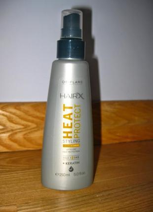 Несмываемый спрей-термозащита для укладки волос