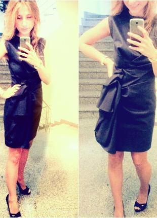 Платье миди дизайнерское