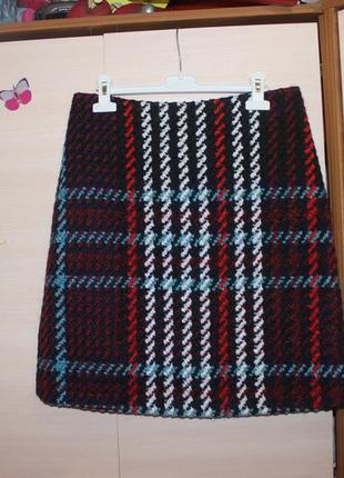 Стильна тепла юбка marks & spencer