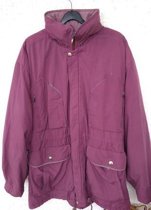 Куртка мужская большой размер xl xxl зима длинная opti