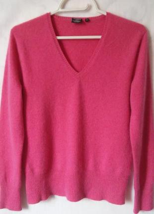 Yorn! кашемир! свитер-пуловер 100% кашемир