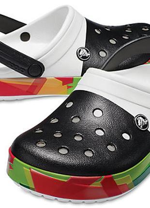 Сабо crocs crocband prismatic, w7