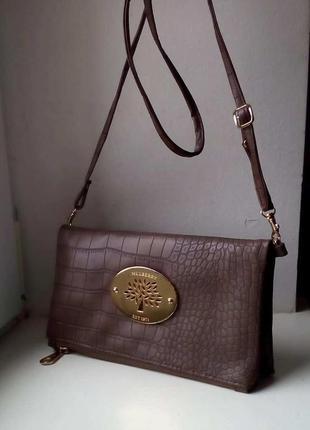 Красивая сумочка - клатч mulberry