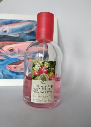 Духи/туалетная вода/мист yves rosher - strawberry, ив роше клубника, лесная земляника