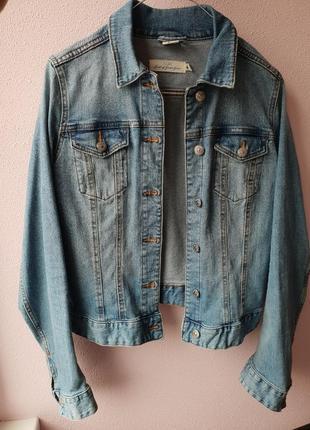 Джинсовая укороченная курточка, h&m