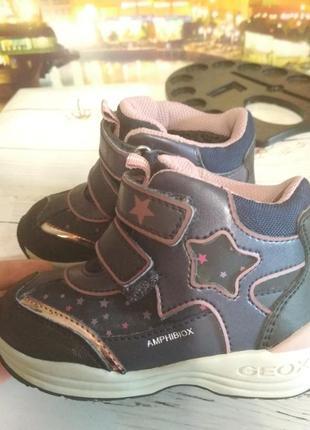 Geox зимние ботинки на девочку