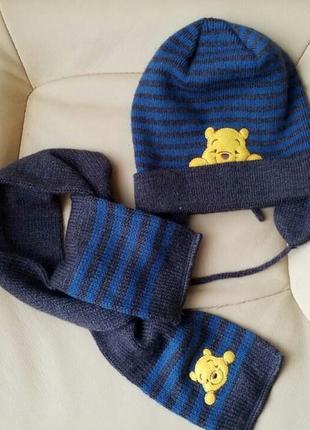 Набор шапка и шарф h&m