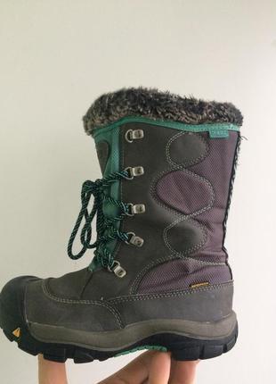 Детские зимниее сапожки ботинки keen 34 p.