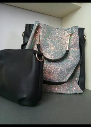 Шикарная женская вместительнач сумочка   клатч(косметичка). цвет пудра