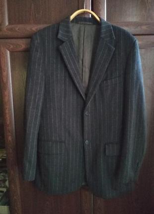 Стильный теплый мужской пиджак фирмы feraud 42 размера(l)
