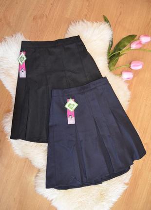 Школьные юбки для девочки набор из 2х