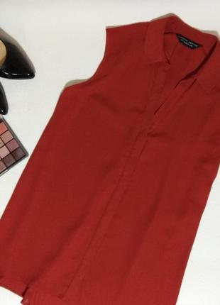 Блуза терракотового цвета dorothy perkins