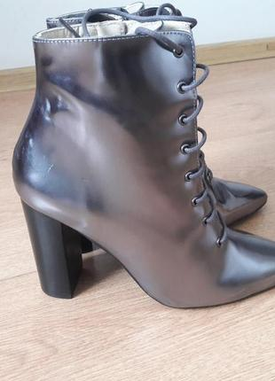 Ботинки из натуральной кожи navyboot