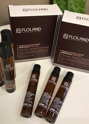 Премиальный филлер для восстановления волос с кератином