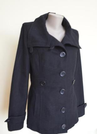Фирменное полу пальто шерсть