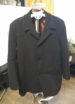 Кашемировое пальто 60р.