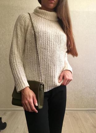 Плюшевый свитер с горлом atmosphere p.38