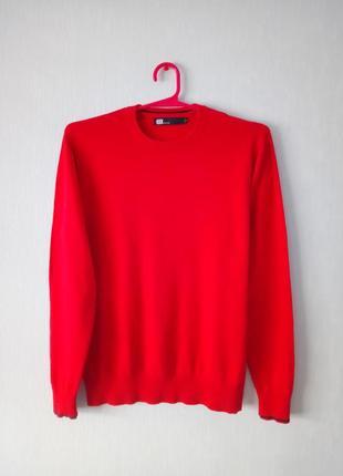 Хлопковый свитер джемпер