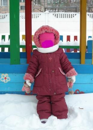 Зимове пальто штани lenne
