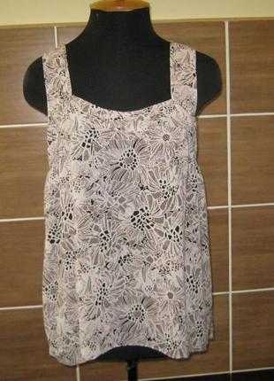 Блузка без рукавов аutograph от marks & spencer