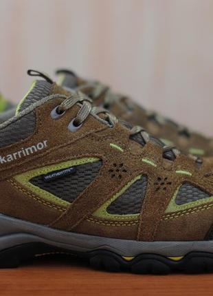 Треккинговые, туристические кроссовки, ботинки karrimor weathertite. 39 размер. оригинал