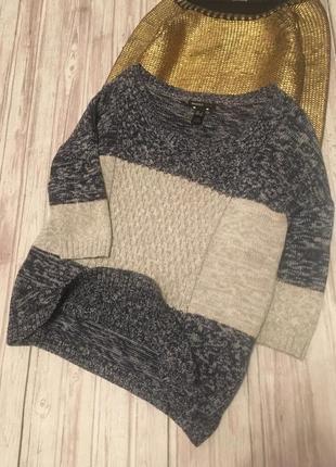 Стильный свитер оверсайз mango