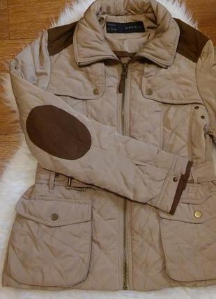 Zara куртка с утеплителем