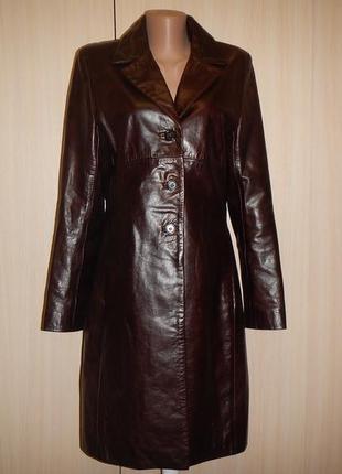 Кожаное пальто tomcat leather england р.l(44-46)