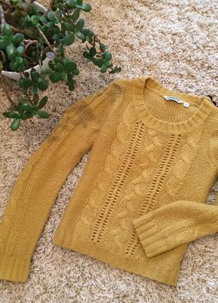 Жёлтый свитер от new look