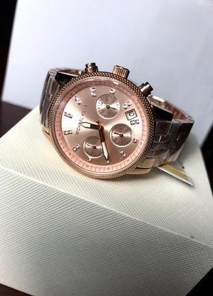 Оригинальные часы michael kors gold rose