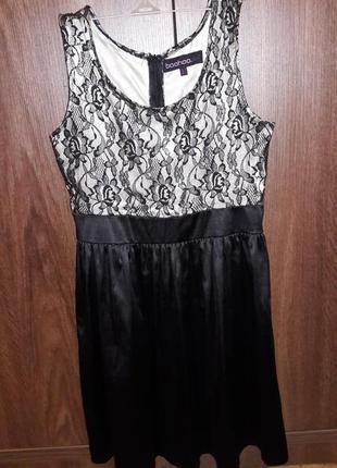 Супер платье с кружевом от boohoo