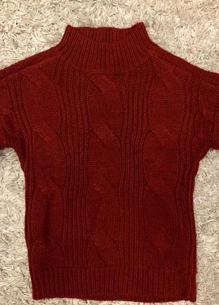 Красный свитер urban classics