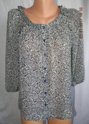 Блуза с принтом h&m
