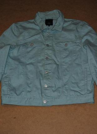 River island джинсовая куртка джинсовка ривер man