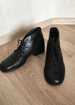 Ботинки кожаные !1