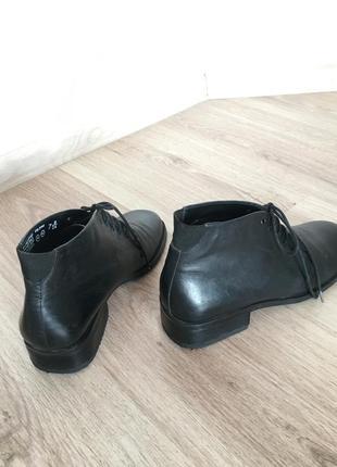 Ботинки кожаные !2 фото
