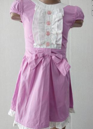 Нарядное элегантное платье бемби