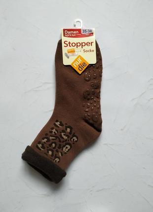 35-38 теплые носки stopper nur die