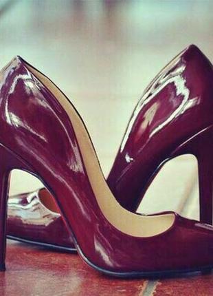 Туфли  - лодочки, красивые туфли на каблуке