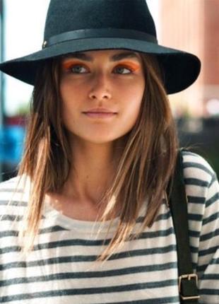 Шляпа американка , капелюх из фетра ,100% шерсть, из америки