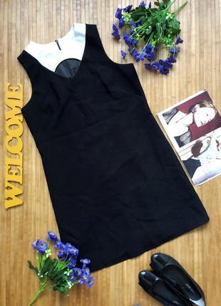 Стильное платье футляр с вырезом на груди 12-42 f&f