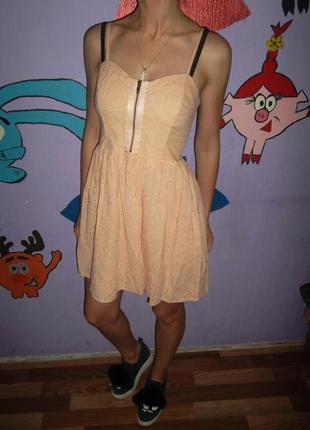 Шикарное летнее платье topshop