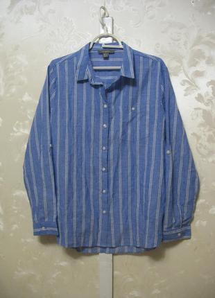 Хлопковая рубашка в полоску primark