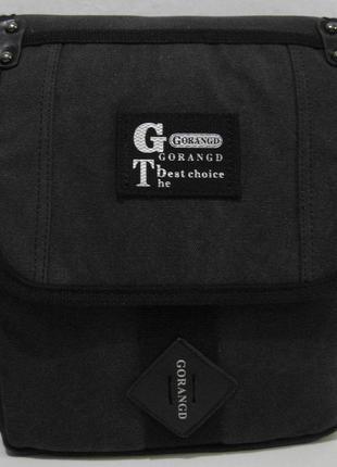 Мужская тканевая сумка-органайзер gorangd (чёрная) 18-09-153