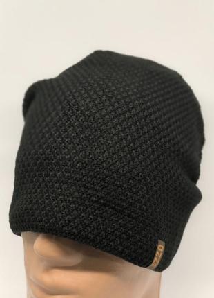 Шапка мужская стильная polar 95 черная