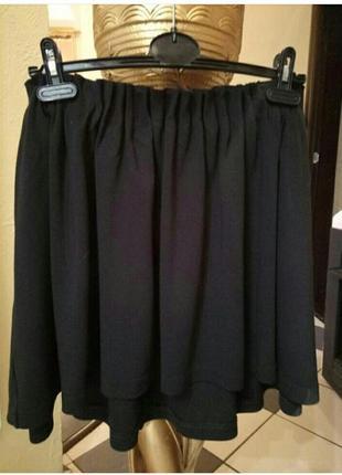 Финальная распродажа!юбка-асимметрия из французкого трикотажа serapfine