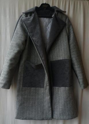 Пальто new look  зима