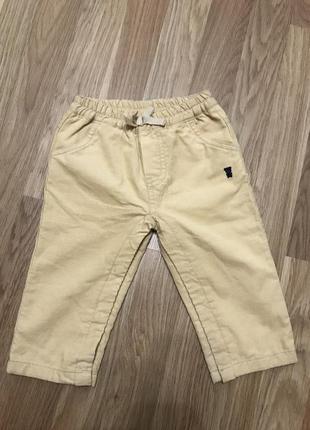 Микровельветовые штаны