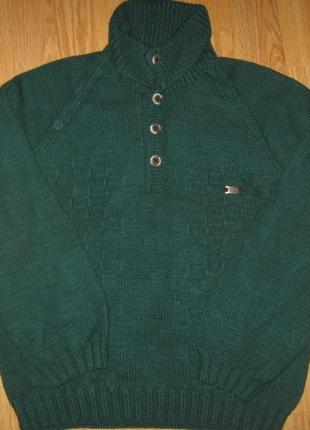 Вязаний свитер на 10 років